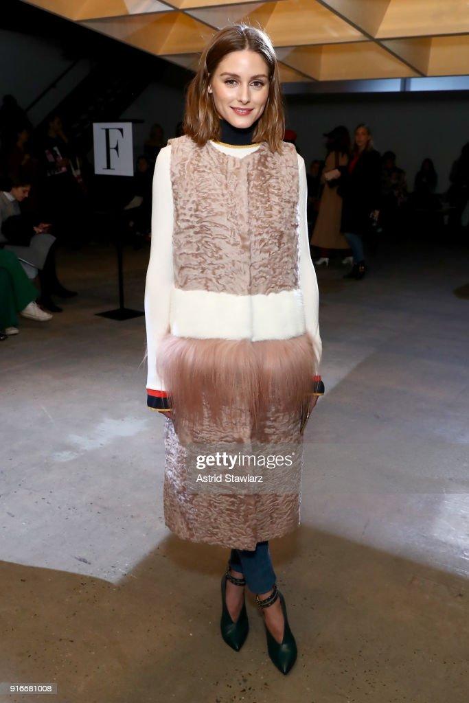 Self-Portrait Fall Winter 2018 -Front Row - New York Fashion Week