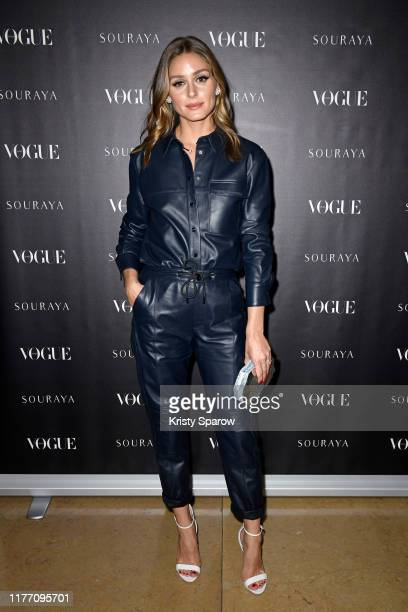 Olivia Palermo attends the Souraya x Vogue Arabia Dinner & Runway Show Paris Fashion Week Event on September 25, 2019 in Paris, France.