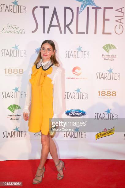 Olivia palermo attends the Starlite Gala on August 11 2018 in Marbella Spain