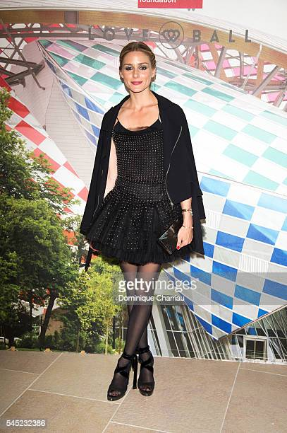 Olivia Palermo attends the 'The Art of Giving' Love Ball Naked Heart Foundation Photo Call as part of Paris Fashion Week Haute Couture Fall/Winter...