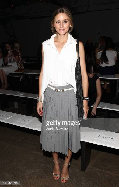 Olivia Palermo attends the Tibi Spring 2015 Front Row during Mercedes Benz Fashion Week at Highline Stages on September 6 2014 in New York City