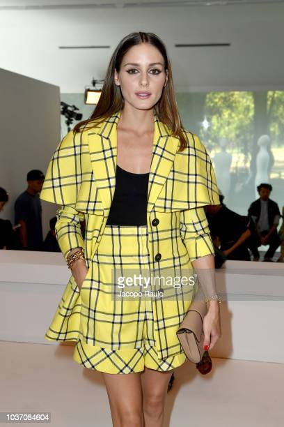 Xenia Tchoumitcheva attends the Tod's show during Milan Fashion Week Spring/Summer 2019 on September 21 2018 in Milan Italy