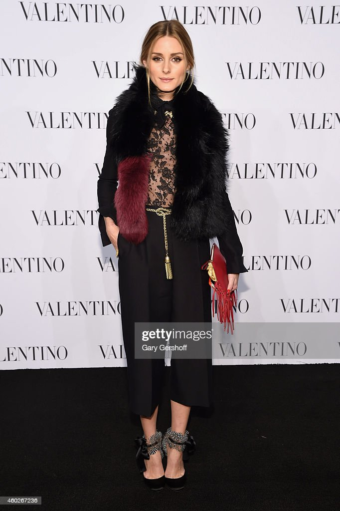 Olivia Palermo attends the Valentino Sala Bianca 945 Event on December 10, 2014 in New York City.