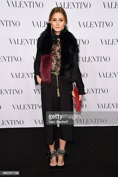 Olivia Palermo attends the Valentino Sala Bianca 945 Event on December 10 2014 in New York City