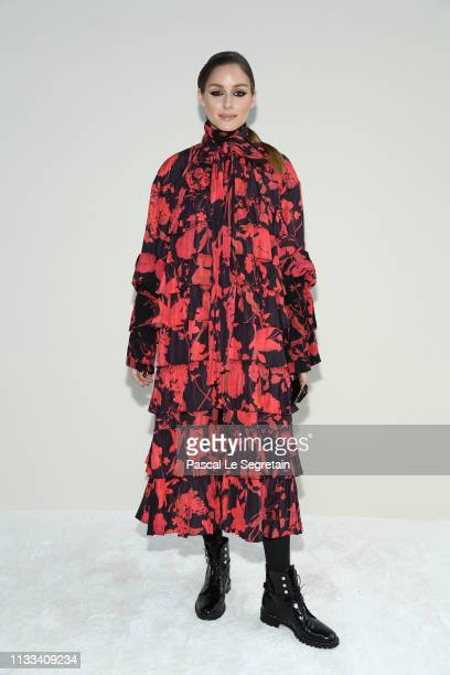 Olivia Palermo attends the Valentino show as part of the Paris Fashion Week Womenswear Fall/Winter 2019/2020 on March 03 2019 in Paris France