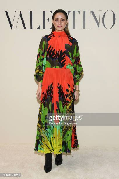 Olivia Palermo attends the Valentino show as part of the Paris Fashion Week Womenswear Fall/Winter 2020/2021 on March 01, 2020 in Paris, France.