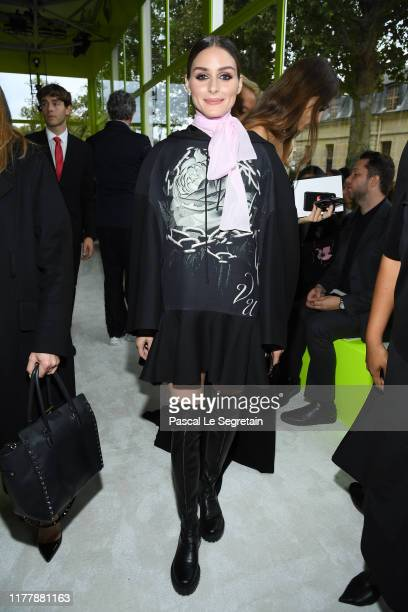 Olivia Palermo attends the Valentino Womenswear Spring/Summer 2020 show as part of Paris Fashion Week on September 29, 2019 in Paris, France.