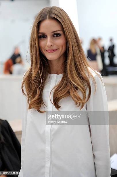 Olivia Palermo attends the Veronique Leroy show as part of Paris Fashion Week Womenswear Spring/Summer 2014 on September 28, 2013 in Paris, France.