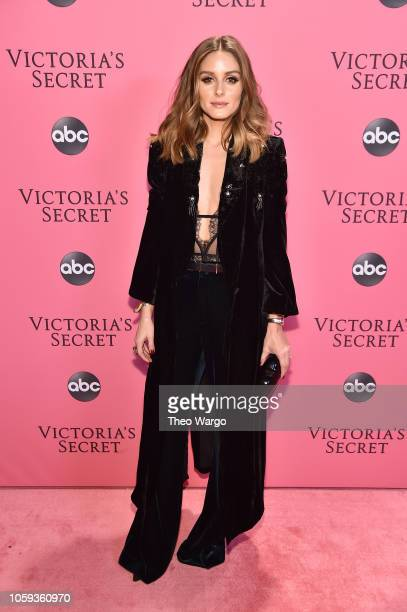 Olivia Palermo attends the Victoria's Secret Fashion Show at Pier 94 on November 8 2018 in New York City