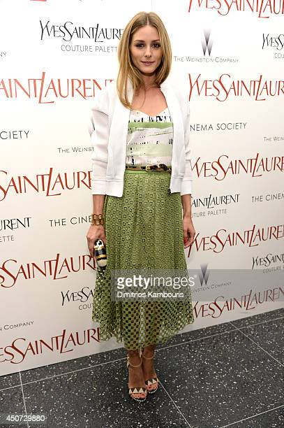 Olivia Palermo attends The Weinstein Company's Yves Saint Laurent premiere hosted by Yves Saint Laurent Couture Palette The Cinema Society at Museum...