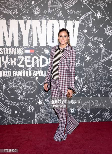 Olivia Palermo attends TOMMYNOW New York Fall 2019 - Front Row & Atmosphere at The Apollo Theater on September 08, 2019 in New York City.