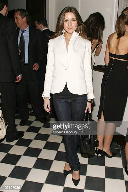 Olivia Palermo during Fracture Special Screening Hosted by The Cinema Society and Hugo Boss After Party at Private Roof Club Landscape Garden...