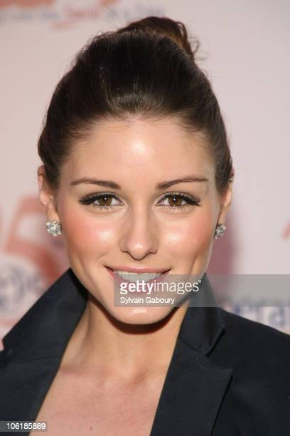 Olivia Palermo during The Operation Smile 25th Anniversary Smile Collection Couture Event Arrivals at 7 World Trade Center in New York City New York...