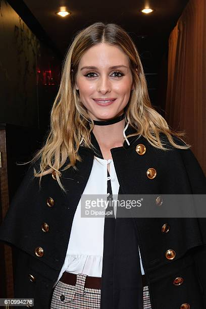 Olivia Palermo entering the Under the Influence panel at Liberty Theater during 2016 Advertising Week New York on September 28 2016 in New York City