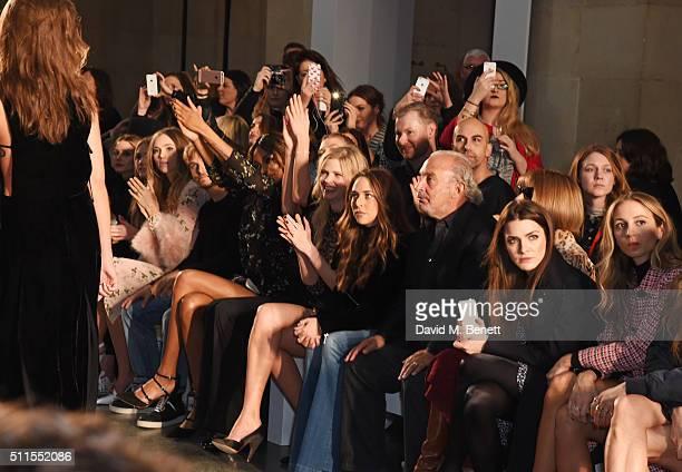 Olivia Palermo, Immy Waterhouse, Suki Waterhouse, Brandon Green, Jourdan Dunn, Karlie Kloss, Lara Stone, Chloe Green, Sir Philip Green, Anna Wintour,...