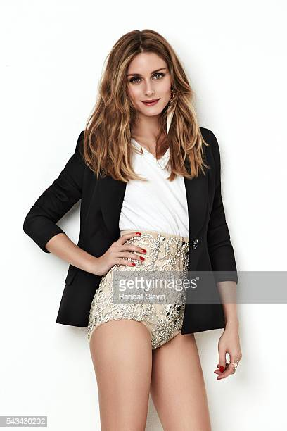 Olivia Palermo is photographed for Cosmopolitian Spain on May 9, 2014 in New York City.