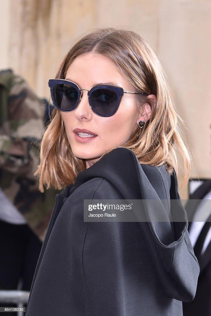 Celebrity Sightings : Paris Fashion Week Womenswear Spring/Summer 2018 : Day One