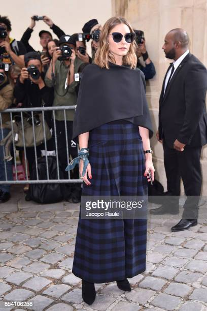 d1e15ca7e96 Olivia Palermo is seen arriving at Dior fashion show during Paris Fashion  Week Womenswear Spring