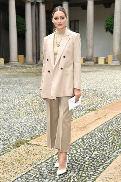 ITA: Boss - Arrivals / Front Row - Milan Fashion Week Spring/Summer 2021