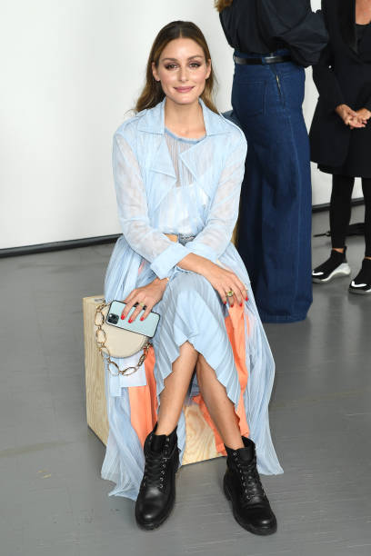 ITA: Sportmax - Arrivals / Front Row - Milan Fashion Week Spring/Summer 2021