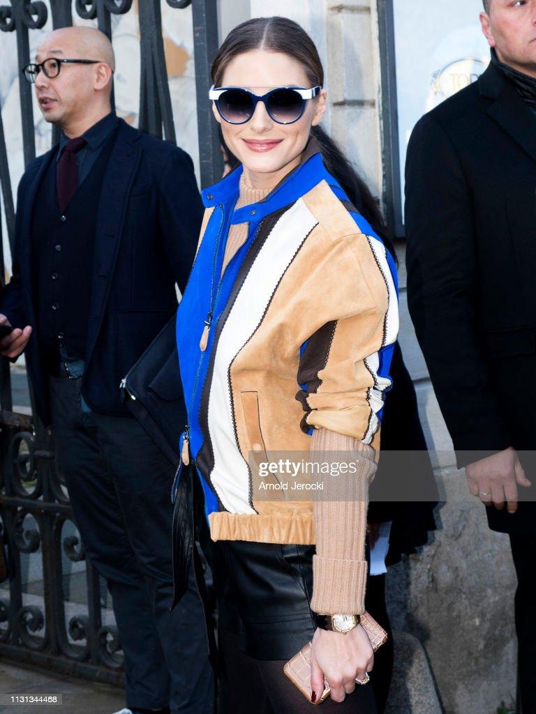 ITA: Celebrity Sightings - Day 3: Milan Fashion Week Autumn/Winter 2019/20