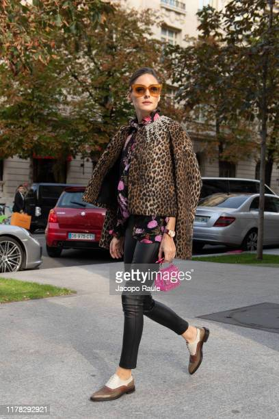 Olivia Palermo is seen during Paris Fashion Week Womenswear Spring Summer 2020 on September 30 2019 in Paris France
