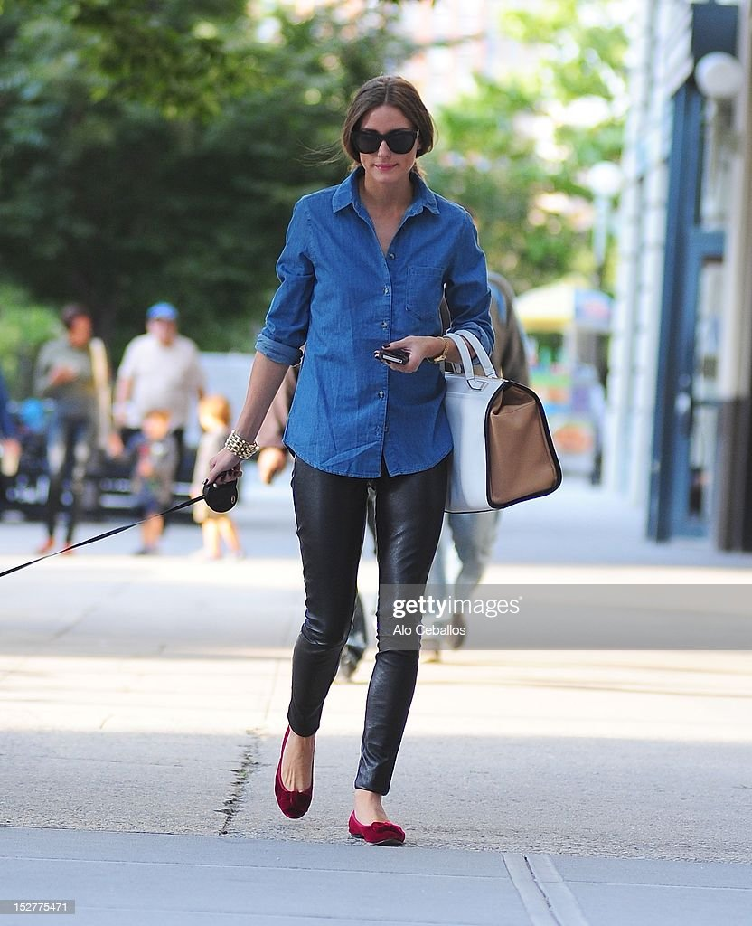 Olivia Palermo is seen in Brooklyn at Streets of Manhattan on September 25, 2012 in New York City.