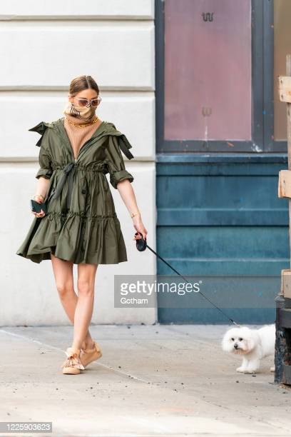 Olivia Palermo is seen in Brooklyn on May 19, 2020 in New York City.