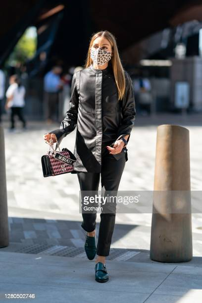 Olivia Palermo is seen in Chelsea on October 15 2020 in New York City