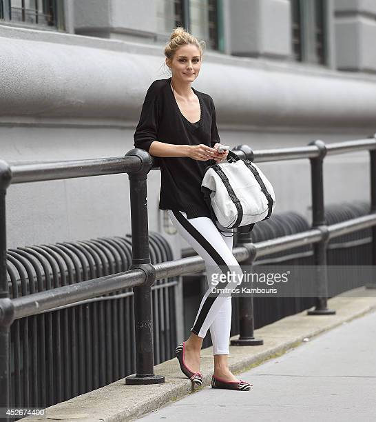 Olivia Palermo is seen July 24 2014 in New York City