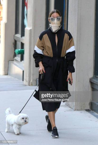 Olivia Palermo is seen on July 16, 2020 in New York City.