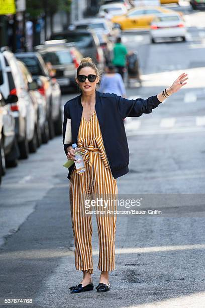 Olivia Palermo is seen on June 02 2016 in New York City