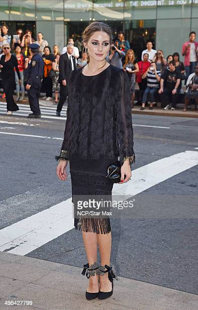 Olivia Palermo is seen on June 2 2014 arriving at The 2014 CFDA Fashion Awards in New York City