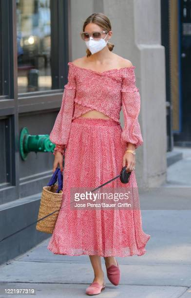 Olivia Palermo is seen on June 22, 2020 in New York City.