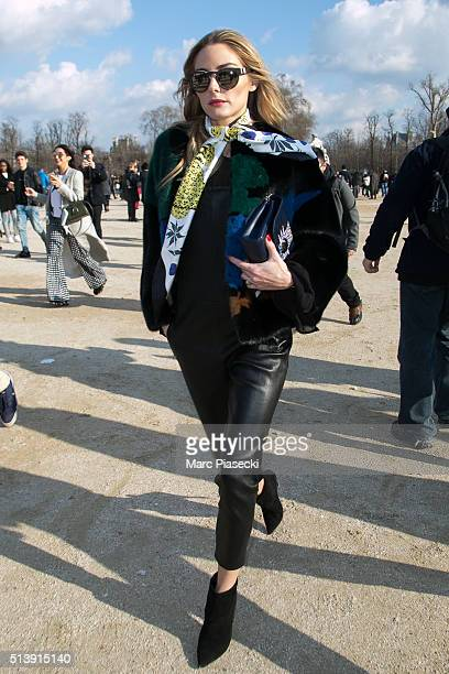 Olivia Palermo is seen on March 5 2016 in Paris France