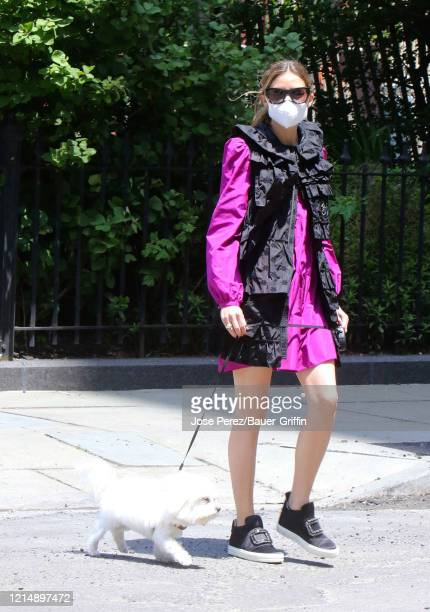 Olivia Palermo is seen on May 24, 2020 in New York City.