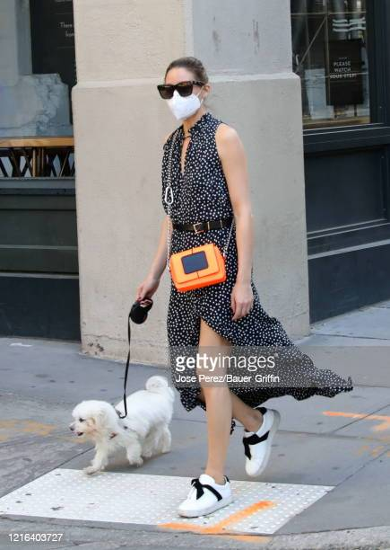 Olivia Palermo is seen on May 30, 2020 in New York City.