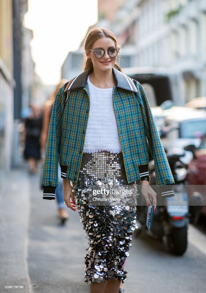 Street Style: September 19 - Milan Fashion Week Spring/Summer 2019 : Foto di attualità