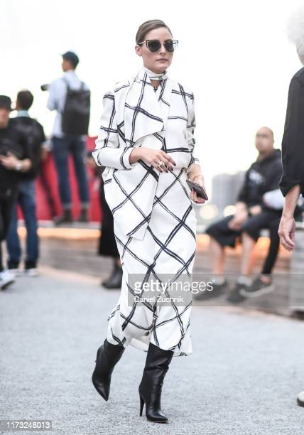 Olivia Palermo is seen outside the Jason Wu show during New York Fashion Week S/S20 on September 08, 2019 in New York City.