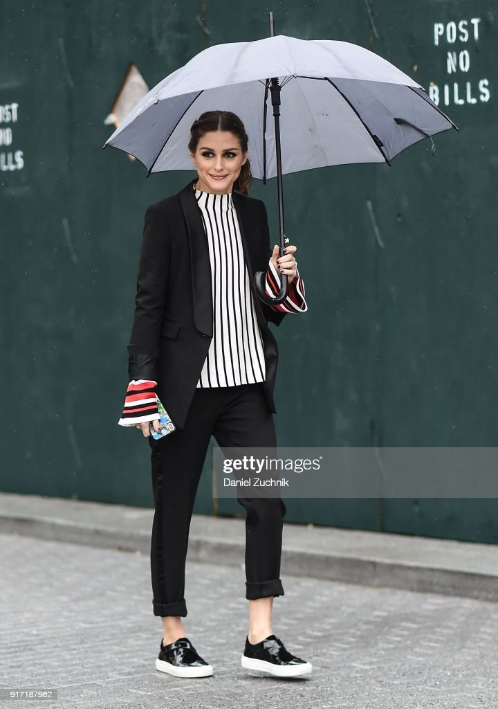 Street Style - New York Fashion Week February 2018 - Day 4
