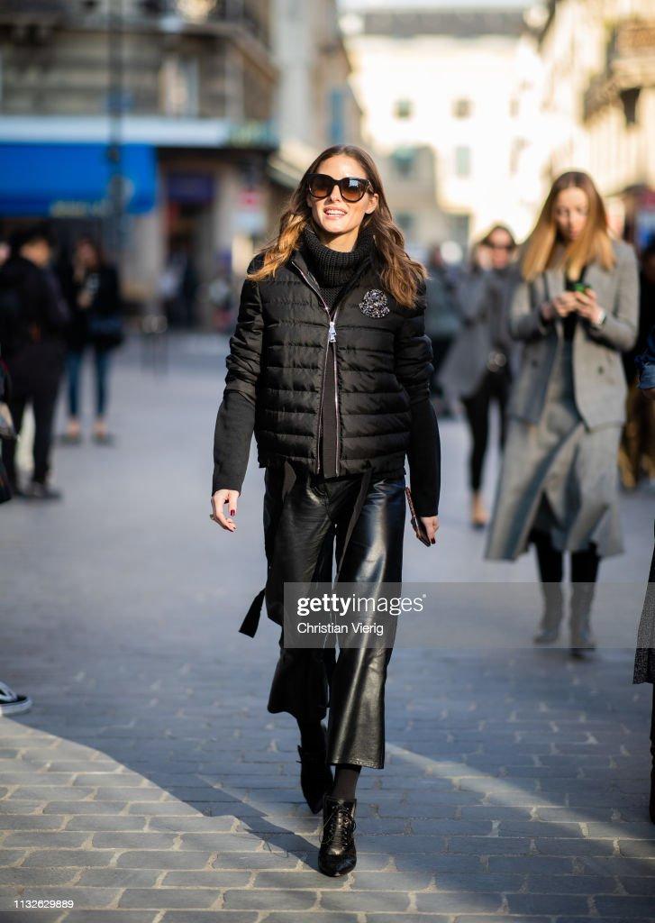 1505acf7910 Street Style - Paris Fashion Week Womenswear Fall Winter 2019 2020   Day  Three
