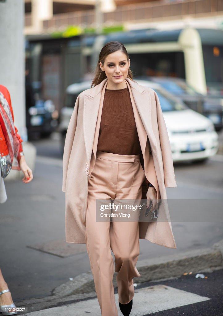 Street Style - Day 2: Milan Fashion Week Autumn/Winter 2019/20 : Photo d'actualité