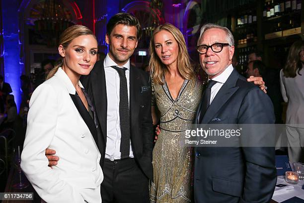Olivia Palermo Johannes Huebl Dee Hilfiger and Tommy Hilfiger at the Tommy Hilfiger Dinner in celebration of the 12th Zurich Film Festival on...