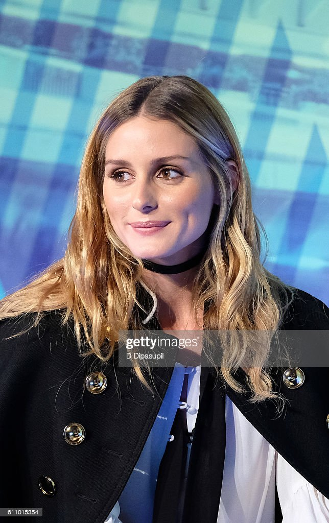 Olivia Palermo onstage during the Under the Influence panel at Liberty Theater during 2016 Advertising Week New York on September 28, 2016 in New York City.
