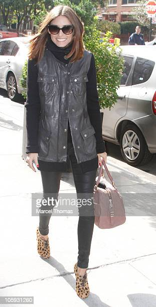 Olivia Palermo shops at 25 Park on October 21 2010 in New York City