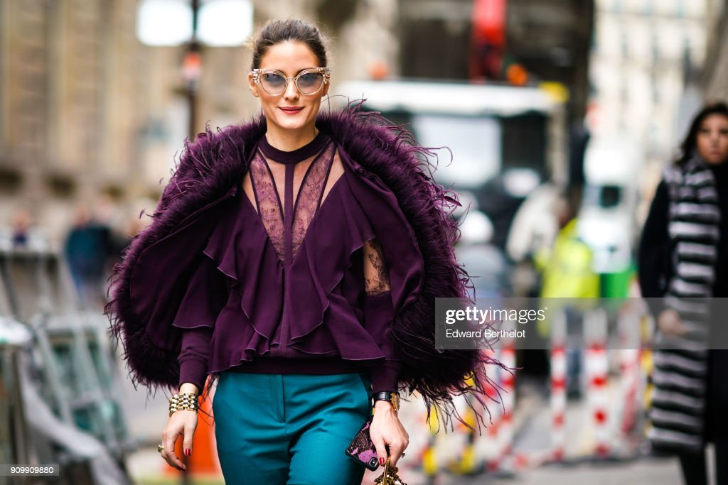 Street Style -Paris Fashion Week -Haute Couture Spring/Summer 2018 : Day Three