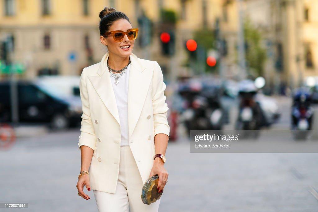 Street Style: September 18 - Milan Fashion Week Spring/Summer 2020 : Photo d'actualité