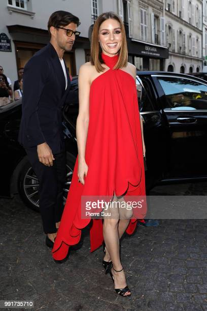 Olivia Palermoattends the Valentino Haute Couture Fall Winter 2018/2019 show as part of Paris Fashion Week on July 4 2018 in Paris France