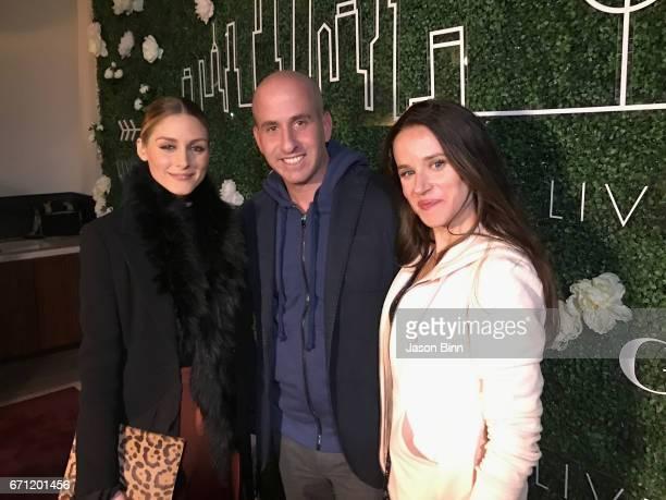 Olivia Pallermo Gilt's Jonathan Greller Ashley Biden circa February 2017 in New York City