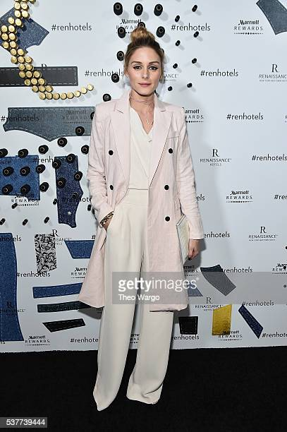 Olivia Palmero attends the Renaissance New York Midtown Hotel Launch Party at Renaissance New York Midtown on June 2 2016 in New York City